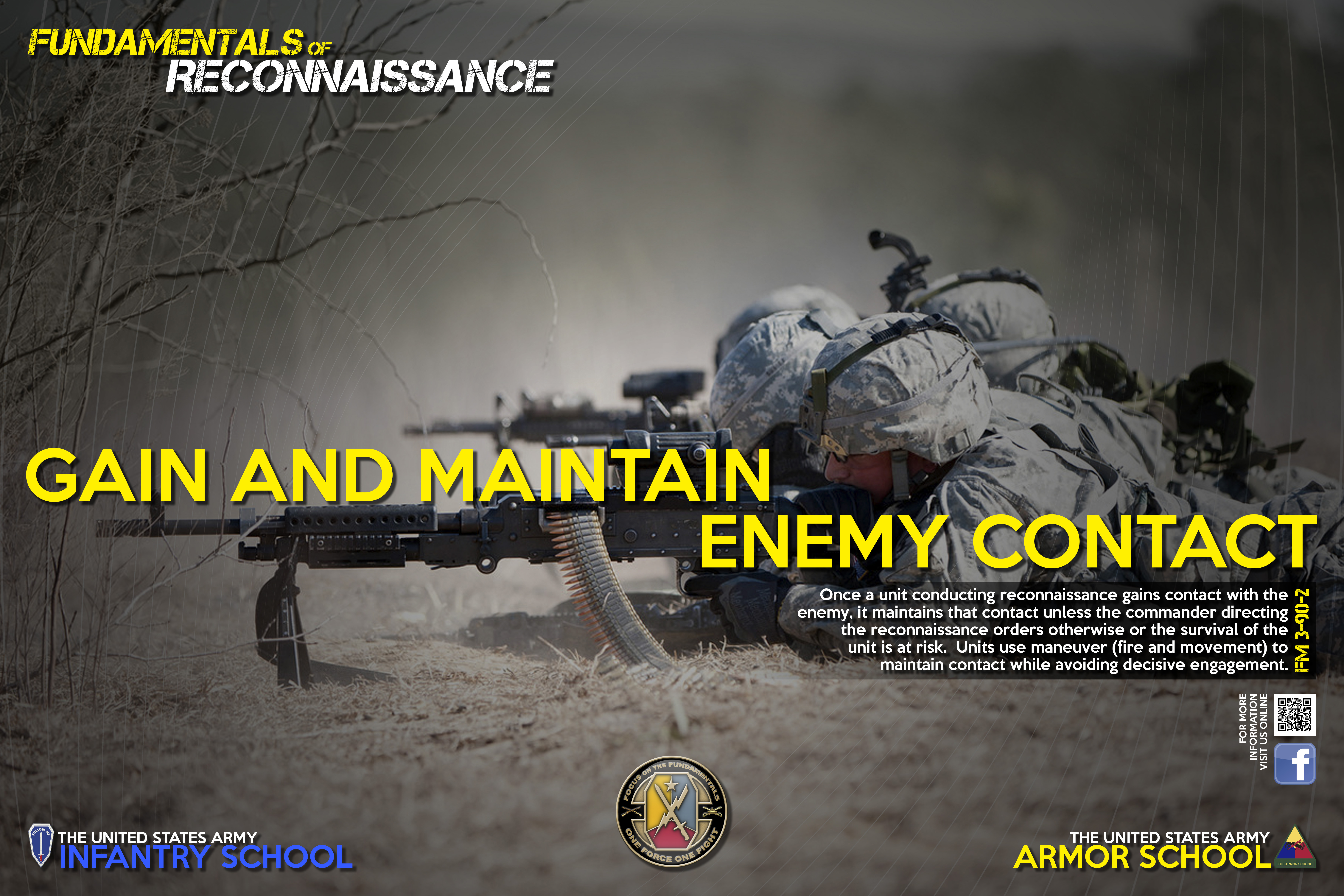 R-4 GAIN AND MAINTAIN ENEMY CONTACT