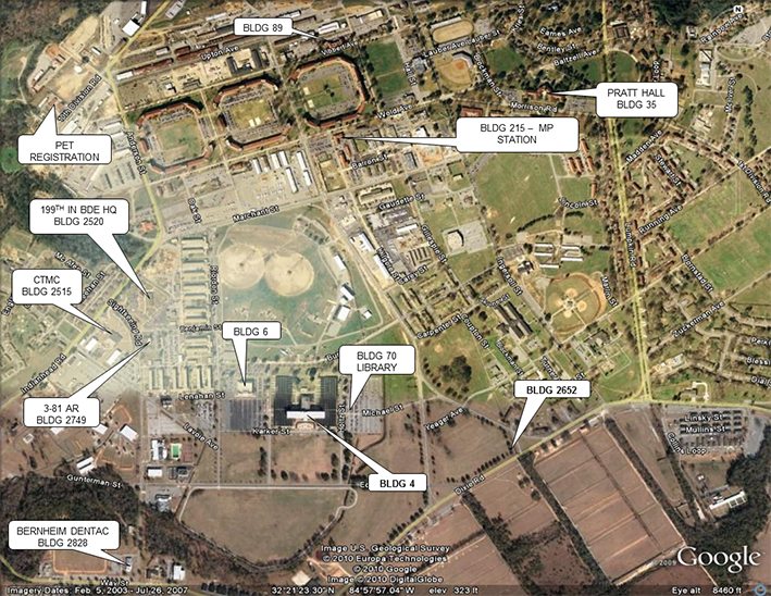 Map Of Georgia Fort Benning.Fort Benning Maneuver Captain S Career Course Mccc
