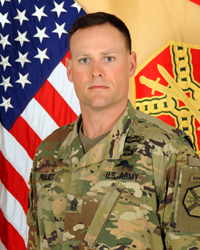 CSM Kevin R. Floyd  Garrison Garrison Command Sergeant Major, Maneuver Center of Excellence