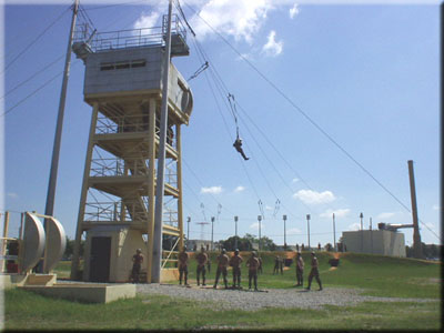 Airborne Training Area -  34 Foot Tower