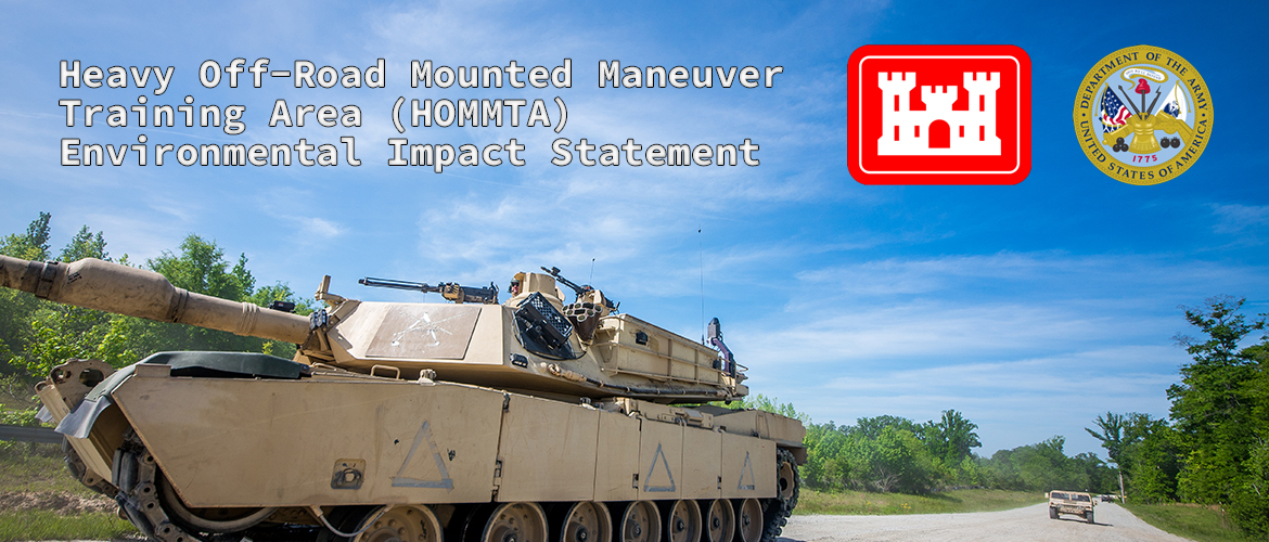 Heavy Off-Road Mounted Maneuver Training Area (HOMMTA) slide